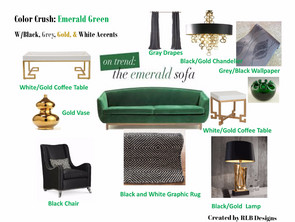 "Color Crush:Emerald Green   The color of ""rejuvenation"""