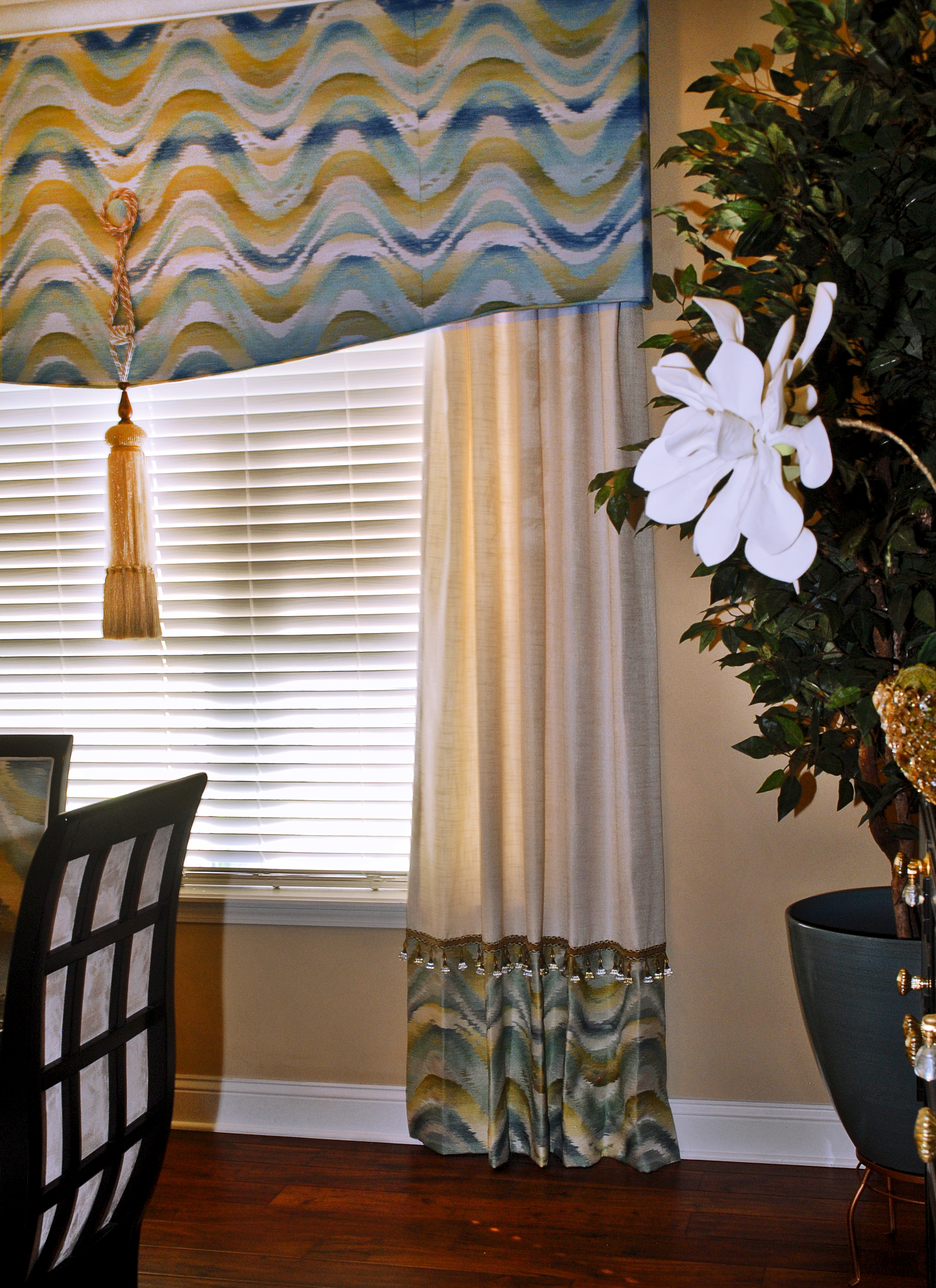 Custom Window Treatments/Upholstery