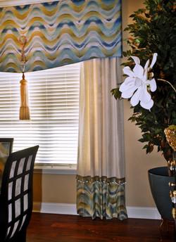 Custom Window Treatments/Upholstery