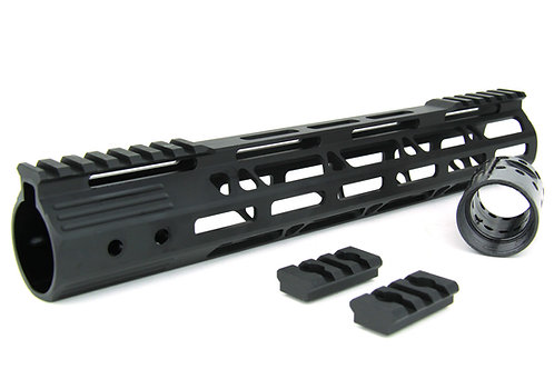 "HG08 Series AR15 ULTRA SLIM MLOK FREE FLOAT HAND GUARD 15"" W/DETACH RAILS"