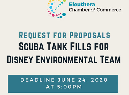 Disney RFP for Scuba Tank Fills