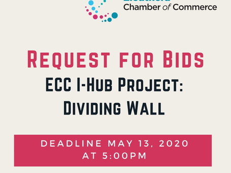 Request for Bids - Dividing Wall
