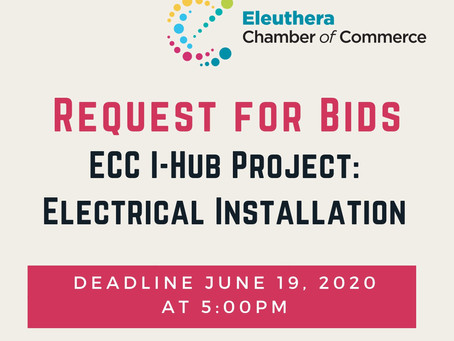 Request for Bids - Electrical Installation