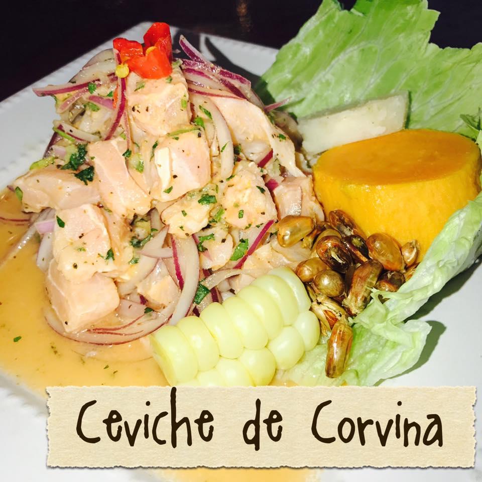 Ceviche de Corvina