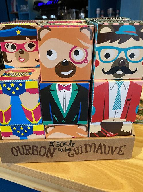 Cube Ourson Guimauve