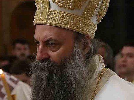Patriarch Porfirije: The Essence of Church as an Assembly is Liturgy