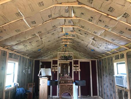 God is Good: The Chapel Progresses