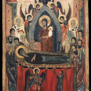 Mary's Dormition, Death to Self