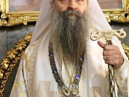 Metropolitan Porfirije Elected Patriarch of Serbian Orthodox