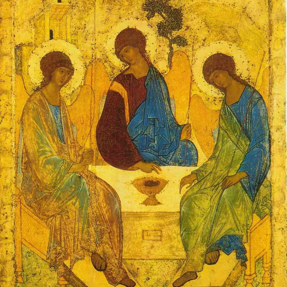 Most Holy Trinity_Rublev