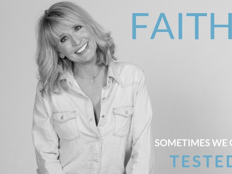 FAITH - Sometimes we get tested