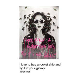 I Love To Buy A Rocket Ship And Fly It In Your Galaxy