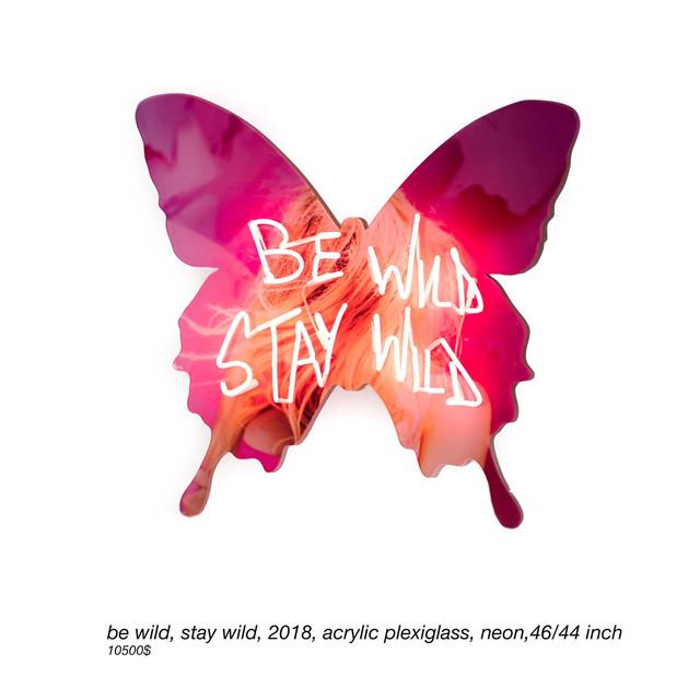 be wild, stay wild, 2018, 46-44inch.jpg