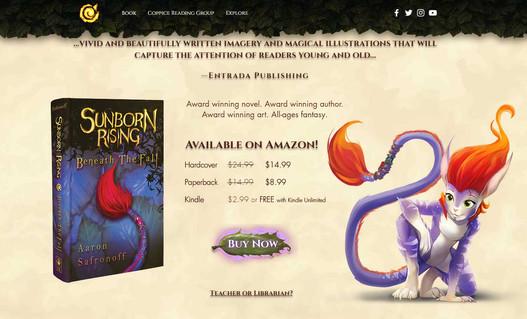 Sunborn Rising Book Sheet