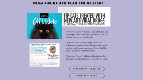 Bria Fund Purina Article
