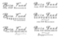 Bria Fund Supportes logo options