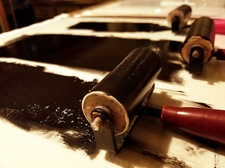 printmaking paint rollers