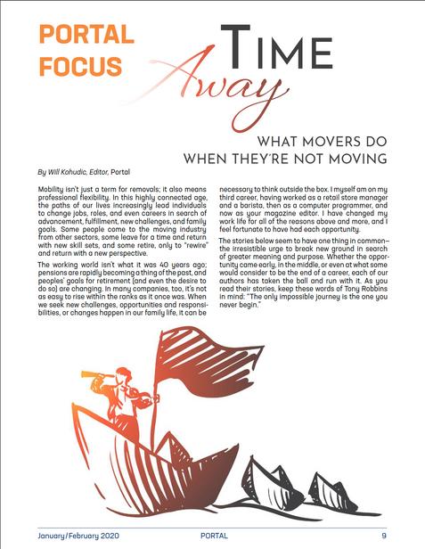 PORTAL - Time Away Focus