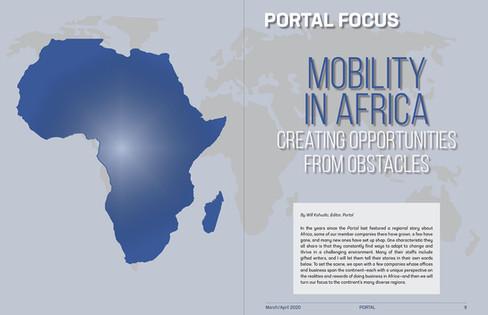IAM Africa Spread