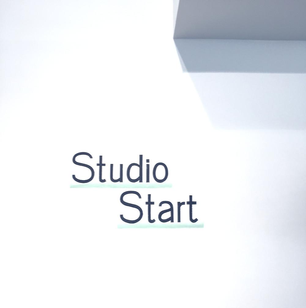 Wall painting at Studio Start Leuven Incubator