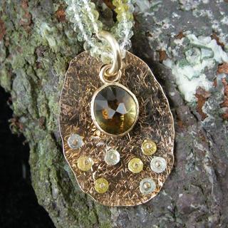 Tourmaline Beryl pendant