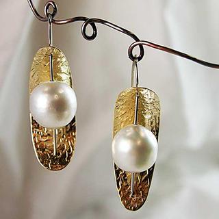 South Seas Pearl earrings