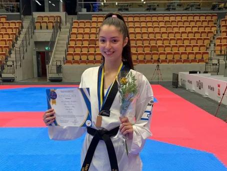 אבישג סמברג נבחרה לספורטאית השנה של גולשי ספורט 1, 01/01/2021
