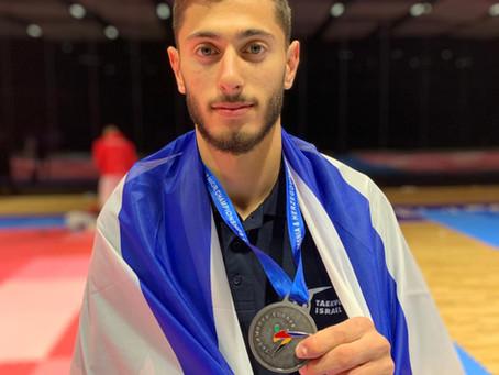 נמרוד קרביצקי, מדלית כסף באליפות אירופה 2020
