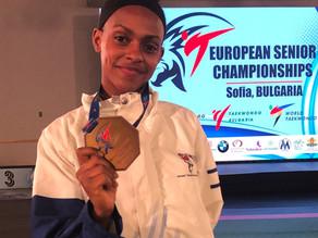 רבקה באייך – מקום 3 באליפות אירופה 2021