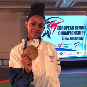רבקה באייך, מדליית ארד, אליפות אירופה 2021