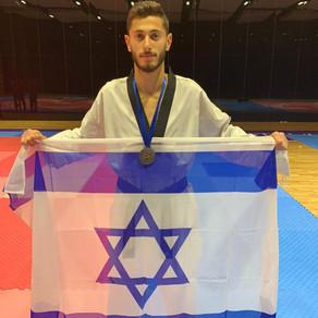 מדליית כסף לנמרוד קרביצקי באליפות אירופה לבוגרים 2020, בוסניה