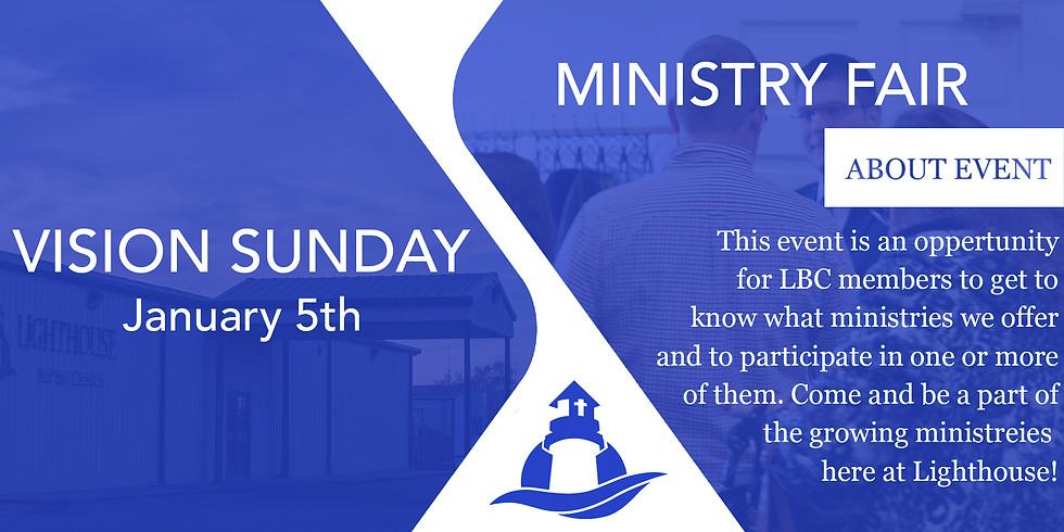 Vision Sunday & Ministry Fair