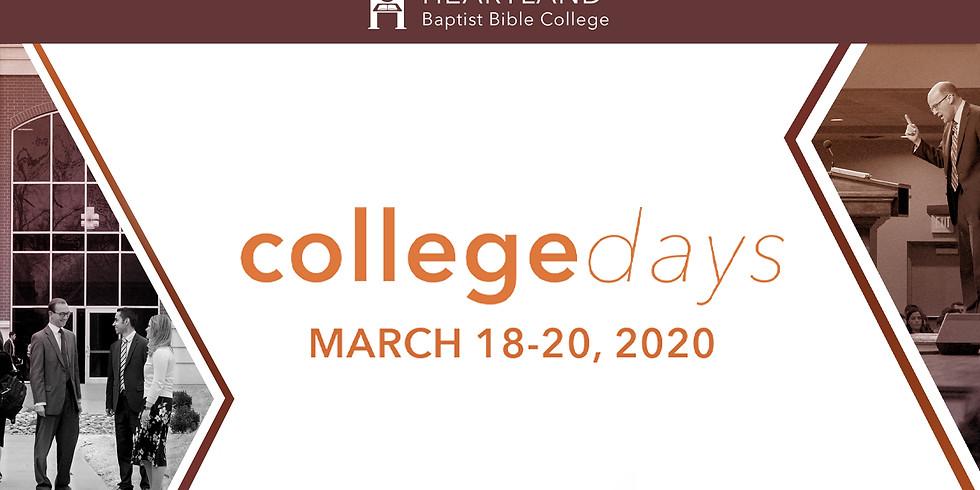HBBC College Days CANCELLED