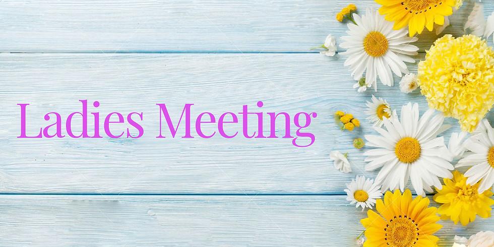 Ladies Meeting