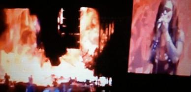 Sky Heavens perfoming with Eminem at Wembley Stadium