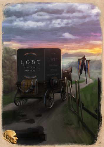 Powóz przeciwników LGBT