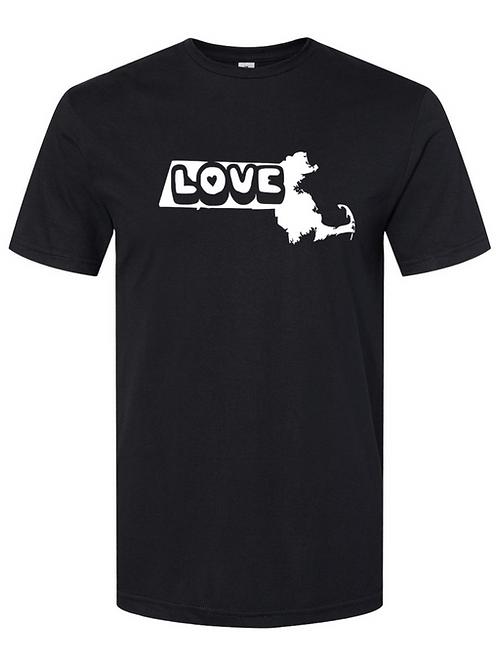Massachusetts Love Tee