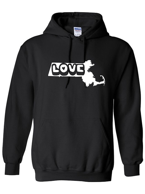 Massachusetts Love Hoodie
