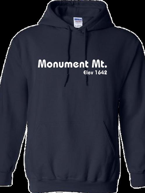 Monument Mt. Elev 1642 Hoodie