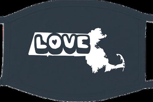 Massachusetts Love Mask