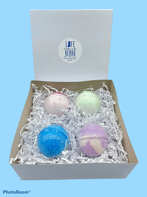 Life is Better in the Berks Bath Bomb Gift Box