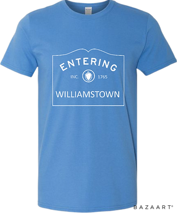 Entering (Choose Any Berkshire City/Town) Tee