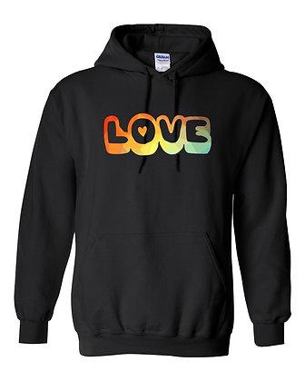 Love Special Edition Rainbow Hoodie