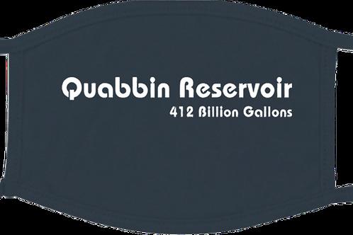Quabbin Resevoir 412 Billion Gallons Mask