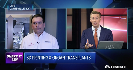 CNBC interviews Michael Golway about the BioAssemblyBot