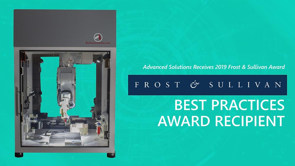 Frost & Sullivan Best Practices Award Recipient