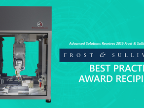 Advanced Solutions Earns Frost & Sullivan Recognition