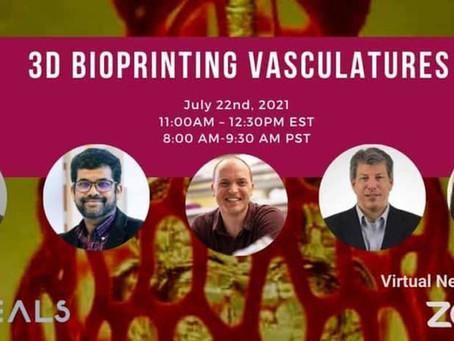 3D Bioprinting Vasculatures