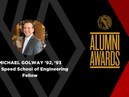 Michael Golway Named Alumni Fellow of the J.B. Speed School of Engineering