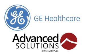 GE Healthcare and Advanced Solutions logos